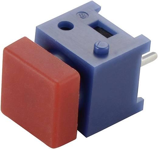 Drucktaster 100 V 1 A 1 x Aus/(Ein) DS-660S-S RD tastend 1 St.