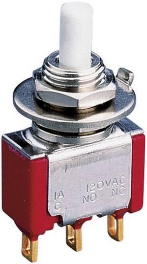 Drucktaster 230 V/AC 0.5 A 2 x Ein/(Ein) Eledis 5A21-F3STSE-B0 tastend 1 St.