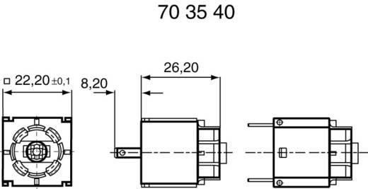 RAFI Lampenfassungen W 2 x 4,6 d 1.71212.011