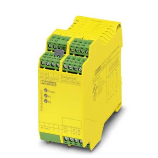 Sicherheitsrelais 1 St. PSR-SCP-24-230UC/ESAM4/3X1/1X2 Phoenix Contact 3 Schließer (B x H x T) 45 x 99 x 114.5 mm