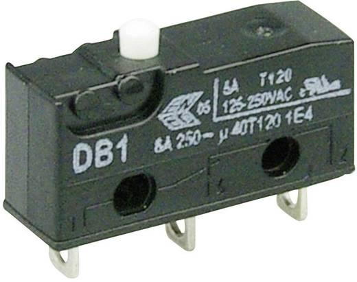 Mikroschalter 250 V/AC 6 A 1 x Ein/(Ein) Cherry Switches DB1C-A1AA tastend 1 St.