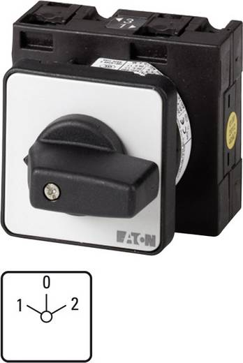 Eaton T3-3-8401/E Nockenschalter 32 A 690 V 2 x 30 ° Grau, Schwarz 1 St.