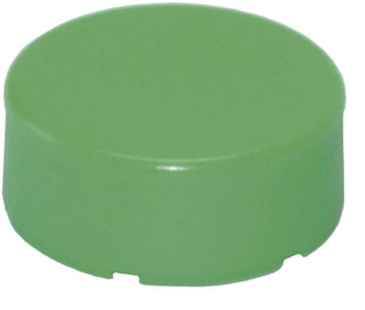 Tastkappe rund, vorstehend unbeschriftet Grün Idec YW-serie 1 St.