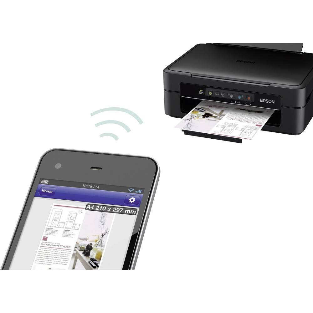 stampante multifunzione a getto d 39 inchiostro epson expression home xp 215 a4 stampante scanner. Black Bedroom Furniture Sets. Home Design Ideas