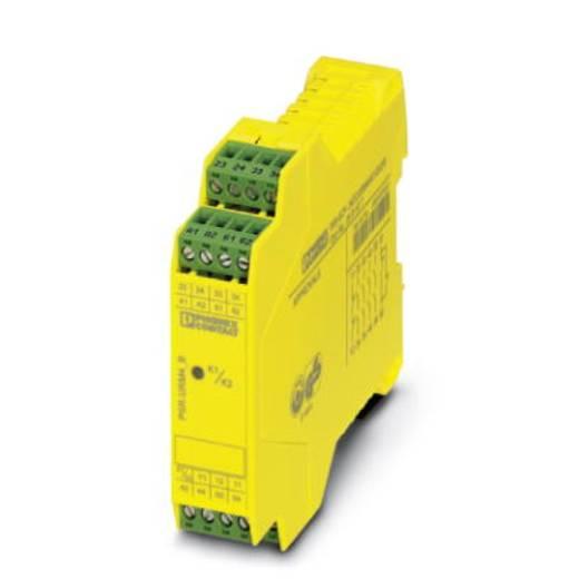 Sicherheitsrelais 1 St. PSR-SCP- 24DC/URM4/4X1/2X2/B Phoenix Contact Betriebsspannung: 24 V/DC 4 Schließer, 1 Öffner (B x H x T) 22.5 x 99 x 114.5 mm Mit Rückmeldestrompfad