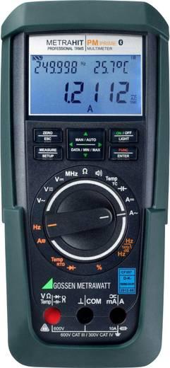 Gossen Metrawatt METRAHIT PM PRIME BT Hand-Multimeter digital Datenlogger CAT III 600 V, CAT IV 300 V Anzeige (Counts):