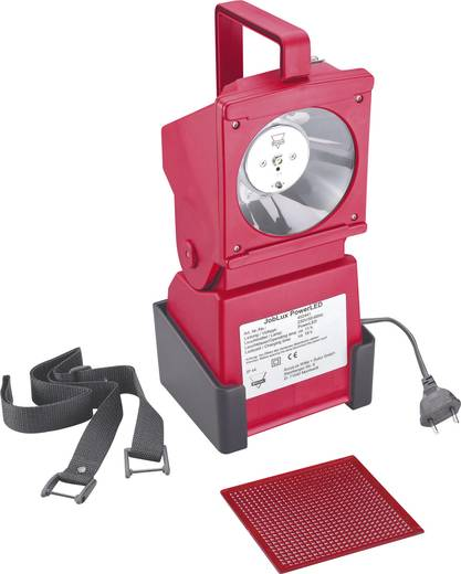 AccuLux Akku-Handscheinwerfer Signal-Rot 452441 LED 11 h
