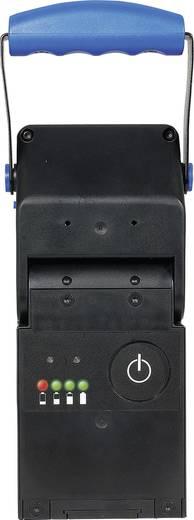 AccuLux Schwarz, Blau 456481 4 V Halogenlampe, Pilotlampe Nichia 5 mm LED Hauptlampe 4 h · Blinklicht 8 h · Pilotlampe 75 h
