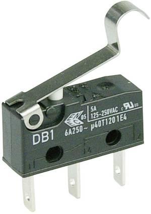 Mikroschalter 250 V//AC 15 A 1 x Ein// Ein XZ-15GQ22-B tastend 1 St.