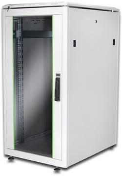 "10"" skříň pro datové sítě Digitus Professional DN-19 22u-6/6-1 DN-19 22u-6/6-1, 22 U, světle šedá"