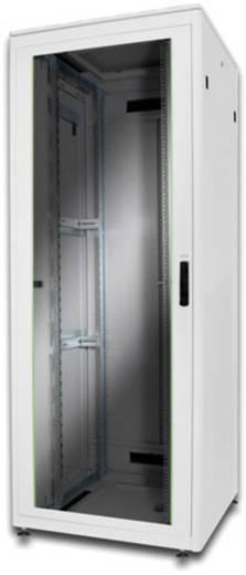 Digitus Professional DN-19 42u-8/8-1 19 Zoll Netzwerkschrank (B x H x T) 800 x 2053 x 800 mm 42 HE Lichtgrau (RAL 7035)