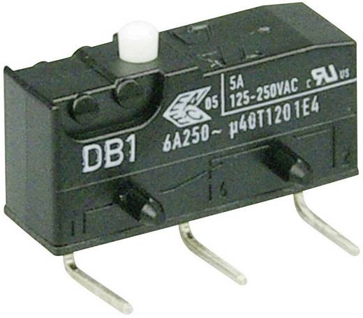 Mikroschalter 250 V/AC 6 A 1 x Ein/(Ein) Cherry Switches DB1C-D2AA tastend 1 St.