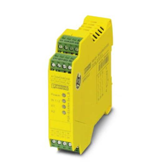 Sicherheitsrelais 1 St. PSR-SCP- 24UC/ESAM4/3X1/1X2/B Phoenix Contact Betriebsspannung: 24 V/DC, 24 V/AC 3 Schließer (B x H x T) 22.5 x 99 x 114.5 mm Mit Meldestrompfad