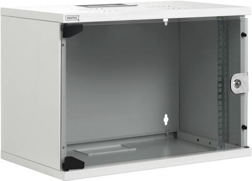 19 Zoll Wandgehäuse Digitus Professional DN-19 07U-S-1 (B x H x T) 540 x 370 x 400 mm 7 HE Lichtgrau (RAL 7035)
