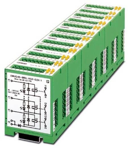 Relaisbaustein 5 St. Phoenix Contact EMUG 45- 8REL/KSR-G 24/ 1 Nennspannung: 24 V/DC Schaltstrom (max.): 6 A 1 Schließer