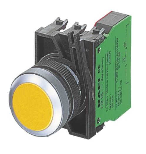 Not-Aus-Schalter 25 V 0.1 A 2 Öffner RAFI 1.15.154.006/0301 IP65 6 St.