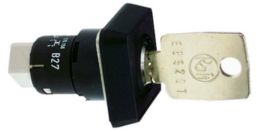 Schlüsselschalter 35 V 0.1 A 1 x Aus/Ein 1 x 90 ° RAFI 1.15.156.001/0000 IP65 2 St.