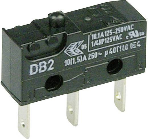 Mikroschalter 250 V/AC 10 A 1 x Ein/(Ein) Cherry Switches DB2C-B1AA tastend 1 St.