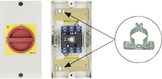 Reparaturschalter absperrbar 1 x 90 ° Rot, Gelb Kraus & Naimer KG20 T203/D-A159 KL51V 1 St.