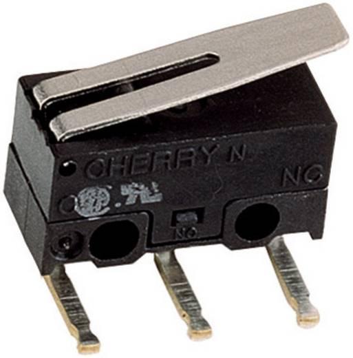 Mikroschalter 125 V/AC 3 A 1 x Ein/(Ein) Cherry Switches DG13-B3LA Schaltwerk: IP40/Anschlüsse: IP00 tastend 1 St.