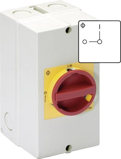 Reparaturschalter absperrbar 20 A 1 x 90 ° Rot, Gelb Kraus & Naimer KG10 T206/40 KS51V 1 St.