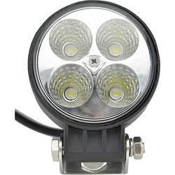 Pracovný svetlomet SecoRüt 12 W, 12 V, 24 V, (Ø x v) 84 mm x 111 mm, 600 lm