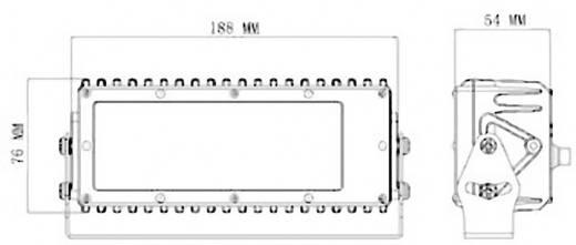 Arbeitsscheinwerfer SecoRüt 30 W 95610 12 V, 24 V Nahfeldausleuchtung (B x H x T) 188 x 76 x 54 mm 1200 lm 6000 K