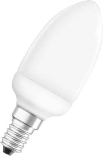 Energiesparlampe OSRAM E14 6 W = 25 W Warm-Weiß EEK: A Röhrenform Inhalt 1 St.