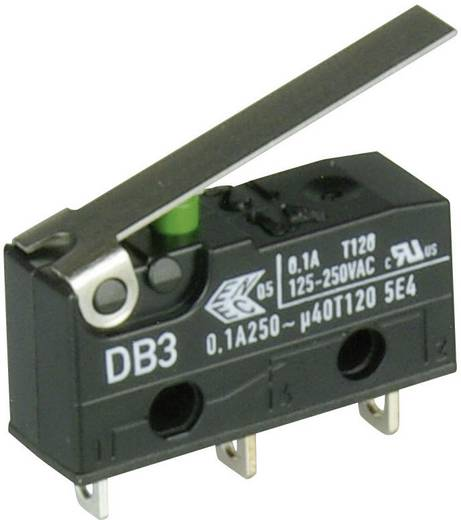 Cherry Switches Mikroschalter DB3C-A1LC 250 V/AC 0.1 A 1 x Ein/(Ein) tastend 1 St.