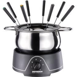 Elektrické fondue, sada Severin FO 2400, 800 W, čierna