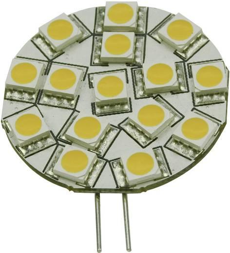 LED G4 Stiftsockel 2.6 W = 26 W Warmweiß (Ø) 36 mm EEK: A+ DioDor dimmbar 1 St.