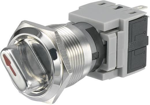 TRU COMPONENTS LAS1-BGQ-11X/21 Vandalismusgeschützter Drehschalter 250 V/AC 5 A Schaltpositionen 2 1 x 90 ° IP40 1 St.
