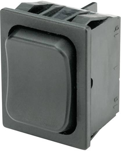 Wippschalter 250 V/AC 6 A 2 x (Ein)/Aus/(Ein) Marquardt 1839.1402 IP40 tastend/0/tastend 1 St.