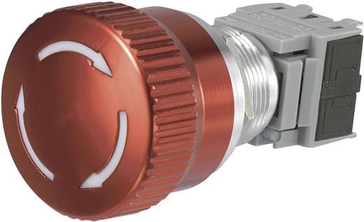 Not-Aus-Schalter 250 V/AC 5 A 1 Öffner, 1 Schließer Conrad Components LAS1-BGQ-11TS IP40 1 St.