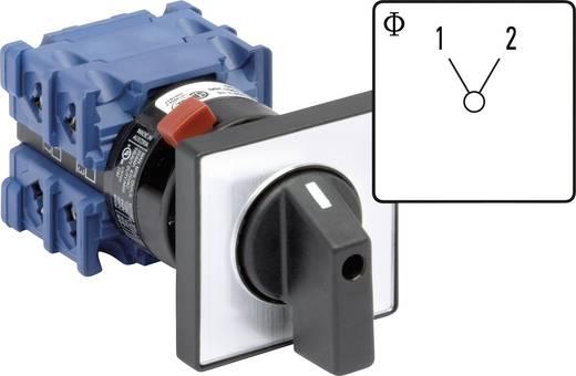 Umschalter 20 A 1 x 60 ° Grau, Schwarz Kraus & Naimer CH10 A220-600 FT2 1 St.