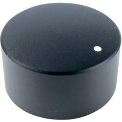 Otočný gombík Cliff FC7233, (Ø x v) 30 mm x 16 mm, čierna, 1 ks