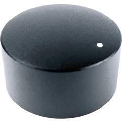 Otočný gombík Cliff FC7234, (Ø x v) 35 mm x 19 mm, čierna, 1 ks