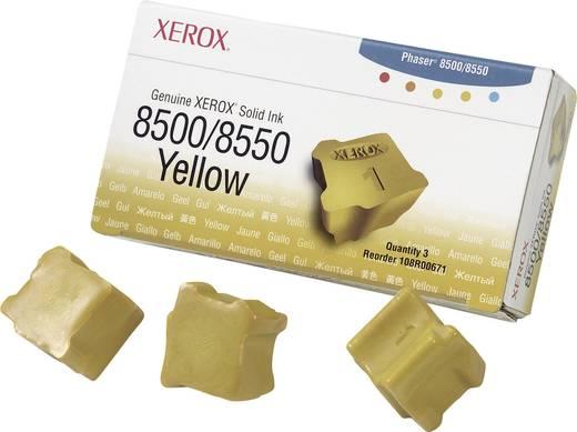 Festtinte Original 108R00671 Xerox Phaser 8500 8550 Solid Ink Series Gelb 3 St.
