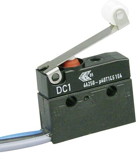 Mikroschalter 250 V/AC 6 A 1 x Ein/(Ein) Cherry Switches DC1C-C3RC IP67 tastend 1 St.