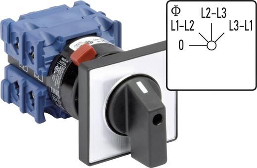 Voltmeter Umschalter 360 ° Grau, Schwarz Kraus & Naimer CH10 A004-624 FT2 1 St.