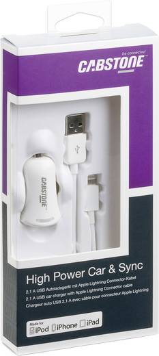 Cabstone Apple (Lightning) USB Kfz-Power Set