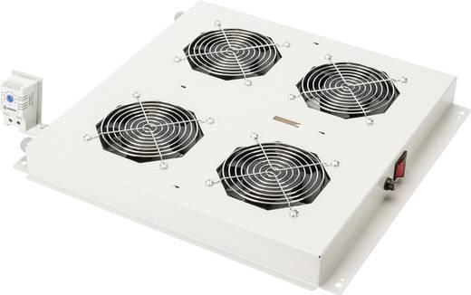 19 Zoll 4 x Netzwerkschrank-Lüfter Digitus Professional DN-19 FAN-4-N Licht-Grau (RAL 7035)