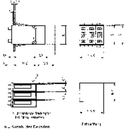 Kodierschalter BCD 0-9 Schaltpositionen 10 Hartmann SH6-131-AKK-2 1 St.