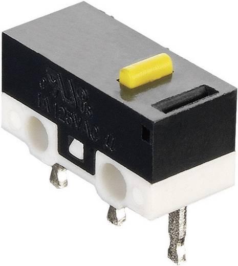 Mikroschalter 125 V/AC 3 A 1 x Ein/(Ein) Hartmann MICROHART tastend 1 St.