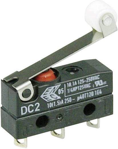 Mikroschalter 250 V/AC 10 A 1 x Ein/(Ein) Cherry Switches DC2C-A1RC IP67 tastend 1 St.