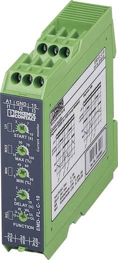 Überwachungsrelais 2 Wechsler 1 St. Phoenix Contact EMD-FL-C-10 1-Phase, Strom, Überstrom, Unterstrom, Window, Fehlersp