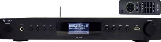x4 tech ir 1600 hifi stereo internetradio fm radio mit usb. Black Bedroom Furniture Sets. Home Design Ideas