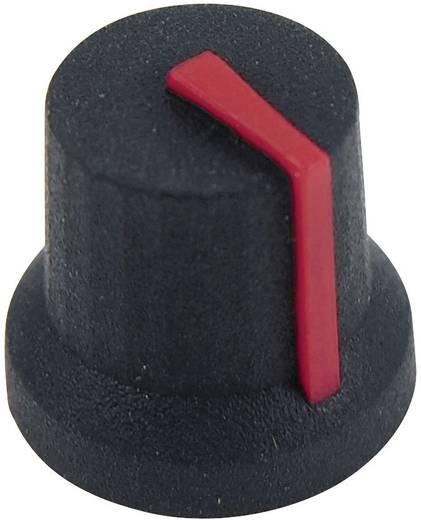 Drehknopf Schwarz-Rot (Ø x H) 16.8 mm x 14.5 mm Cliff CL170853BR 1 St.