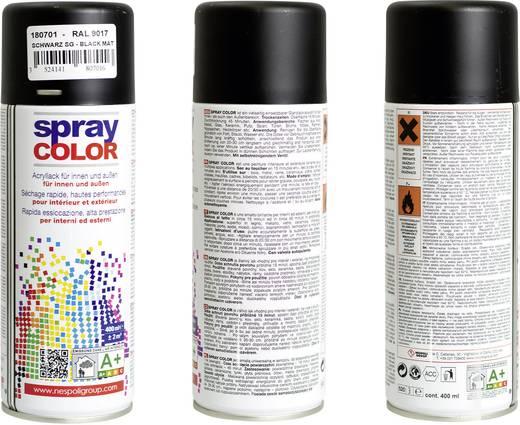Nespoli Bravo 8180701 Acryllack Matt Schwarz RAL 9017 400 ml