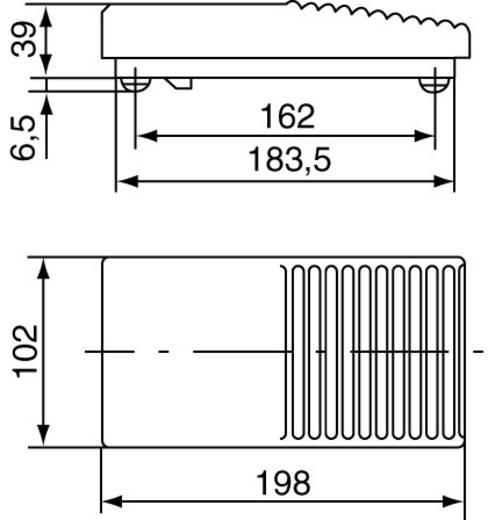 Marquardt 2410.0501 Fußschalter 250 V/AC 6 A 1 Pedal 1 Schließer, 1 Öffner 1 St.